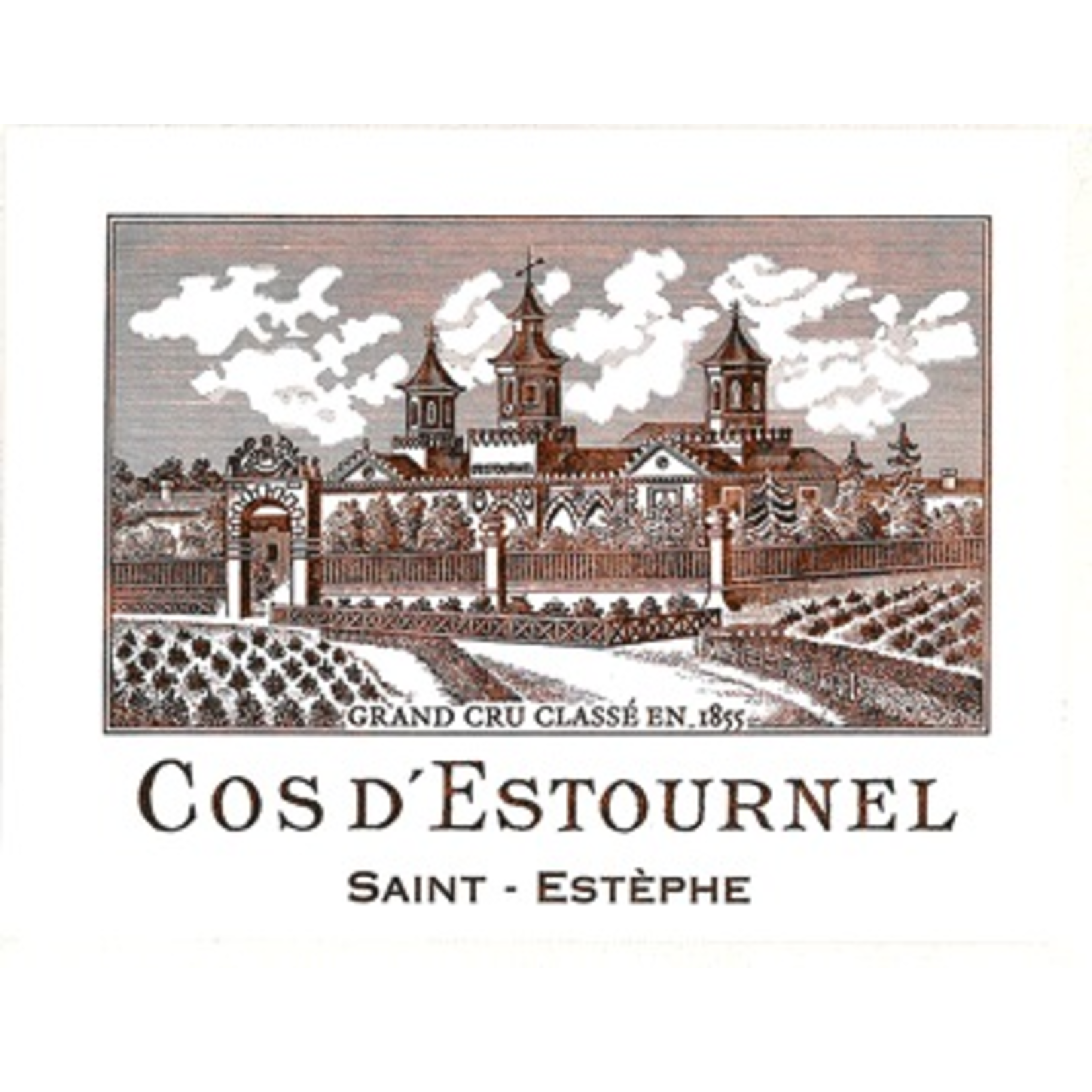 Wine Chateau Cos d'Estournel 2008