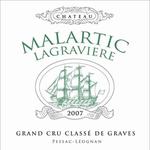 Wine Chateau Malartic Lagraviere Pessac-Leognan Blanc 2015