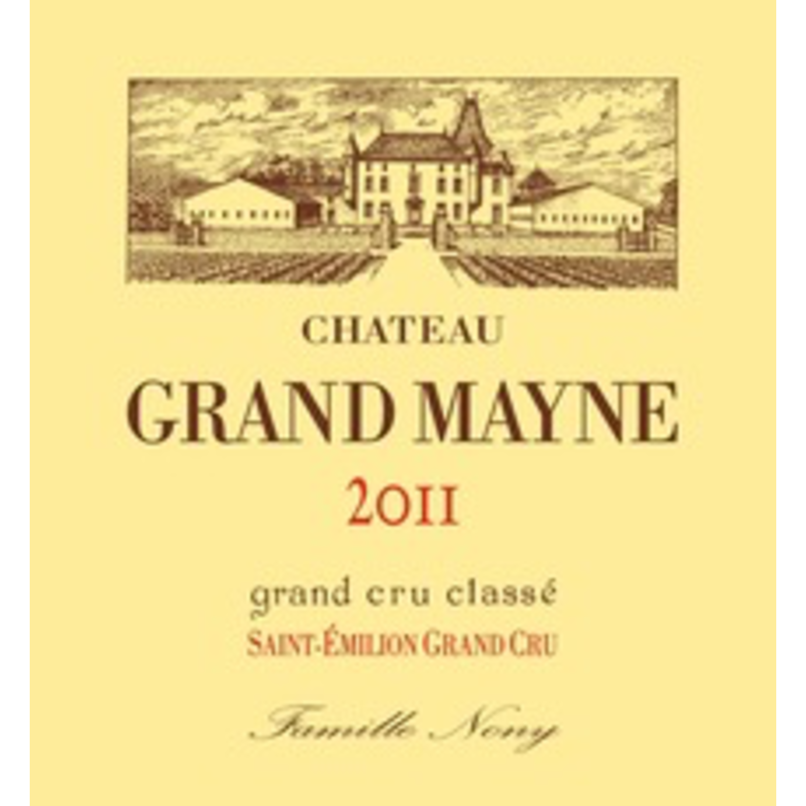 Wine Chateau Grand Mayne 2012