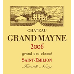 Wine Grand Mayne 2010