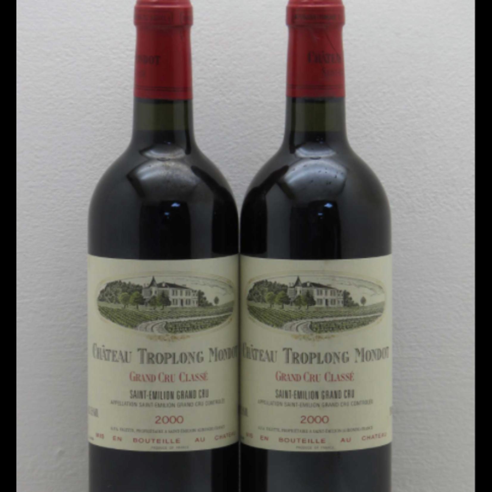 Wine Chateau Troplong Mondot 2000