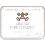 Wine Chateau Pape Clement Rouge 2008