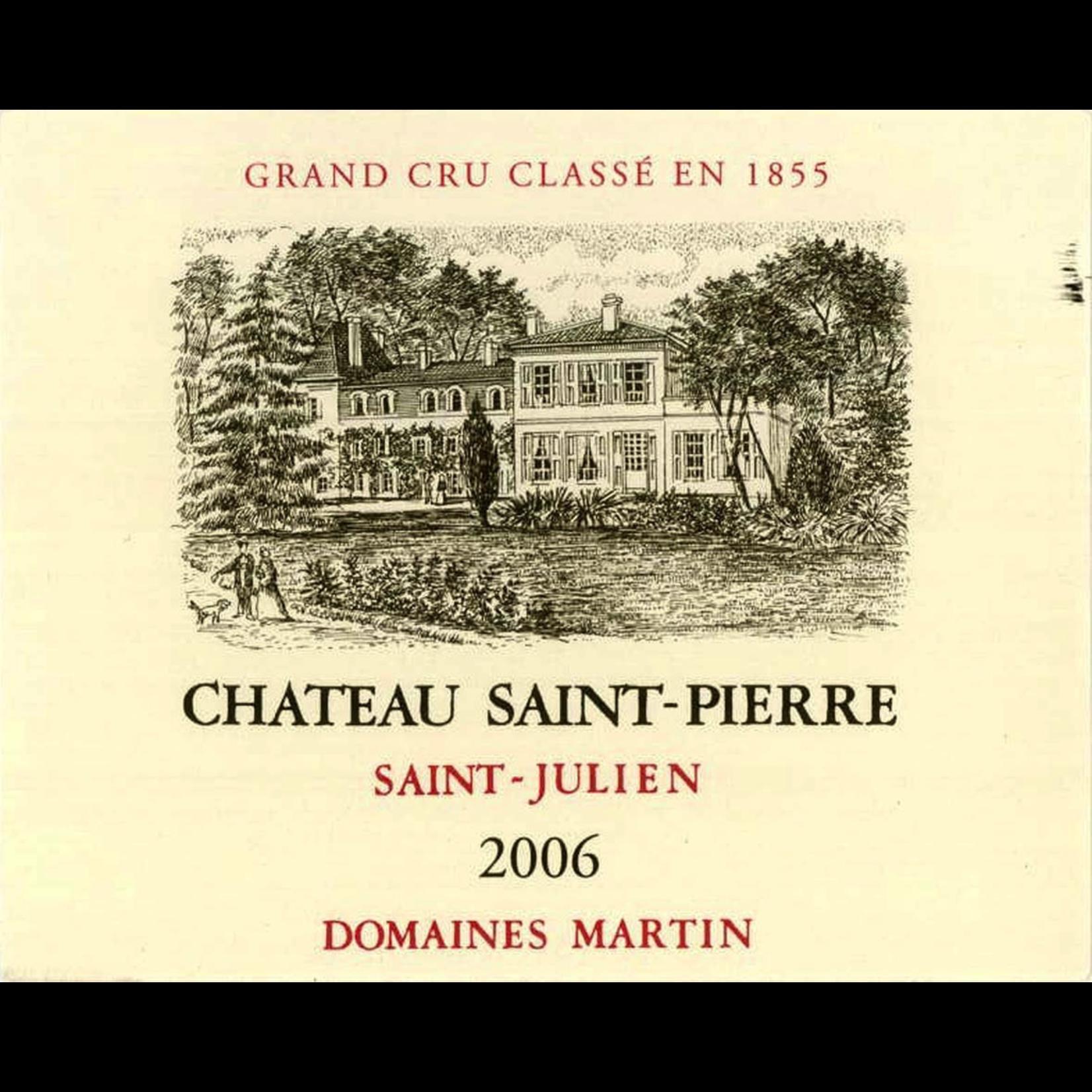 Wine Chateau Saint Pierre 2007