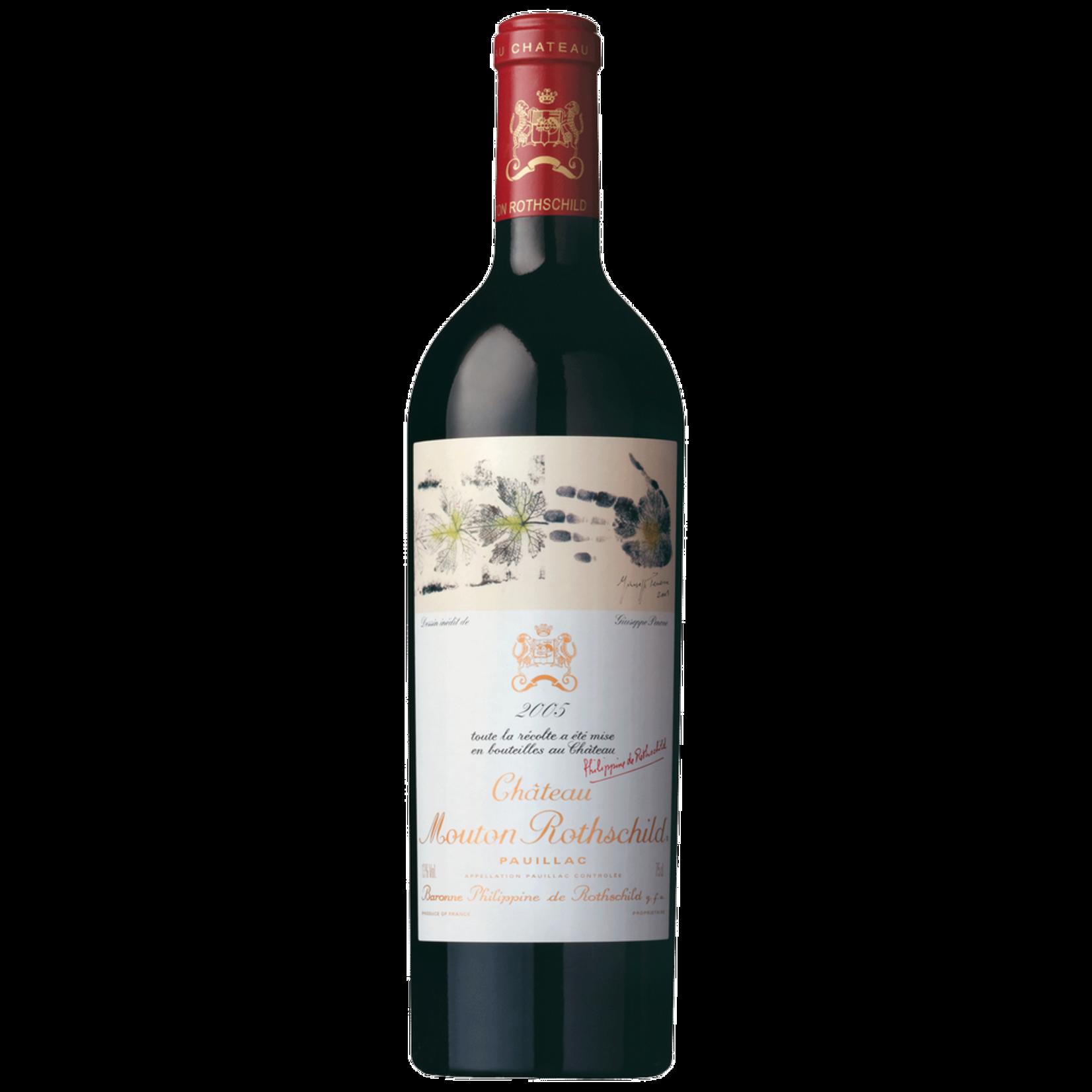 Wine Chateau Mouton Rothschild 2005