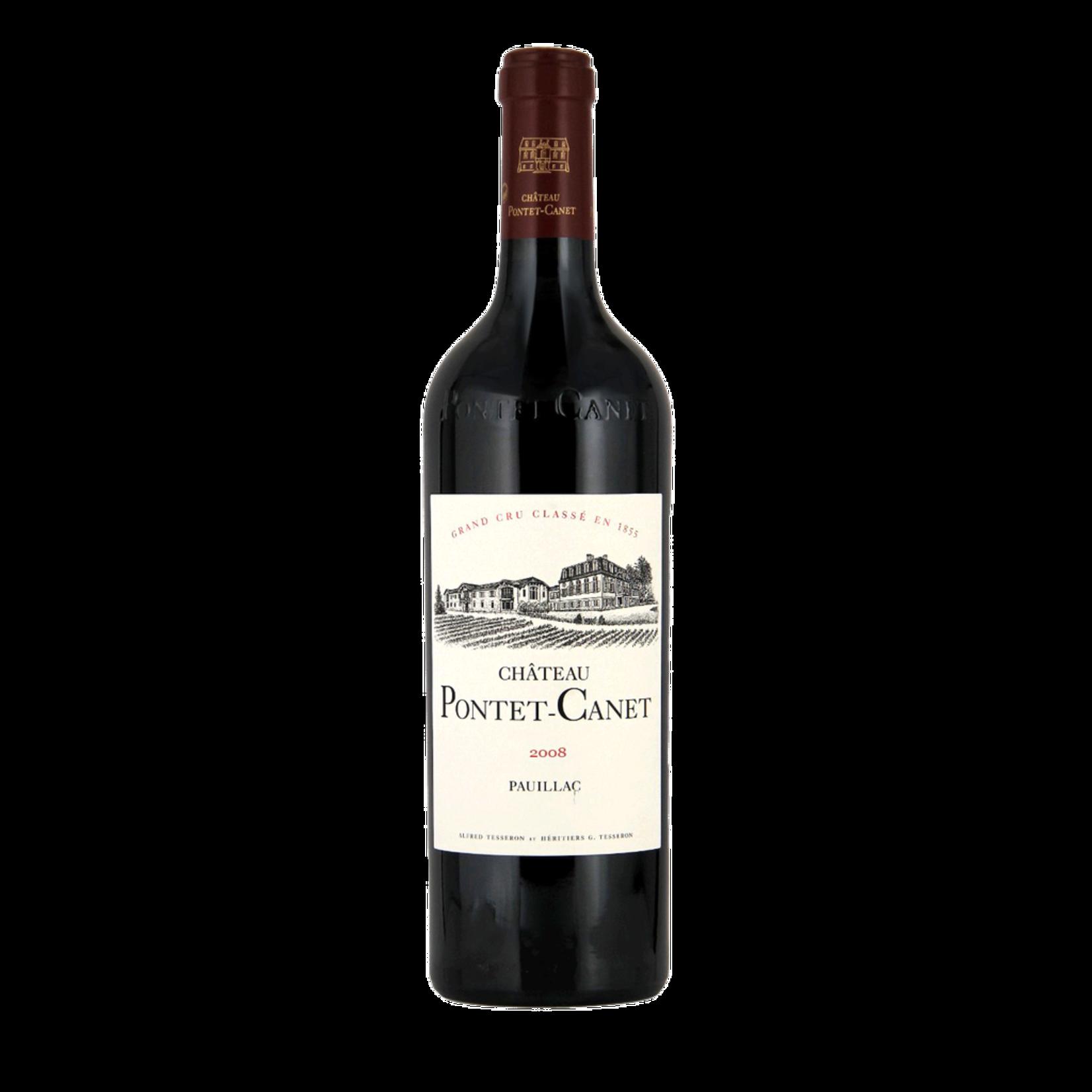Wine Chateau Pontet Canet 2008