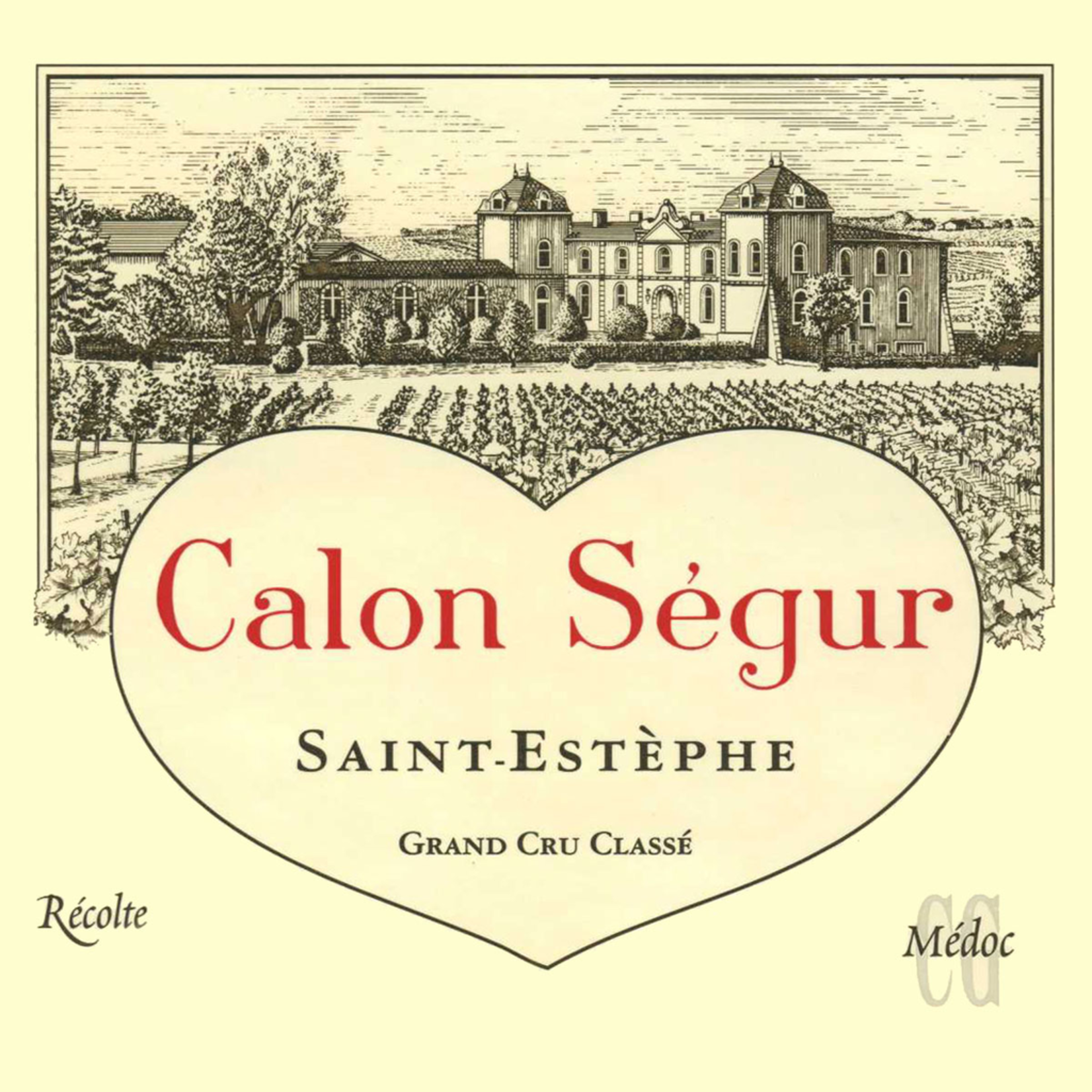 Wine Chateau Calon Segur 2010