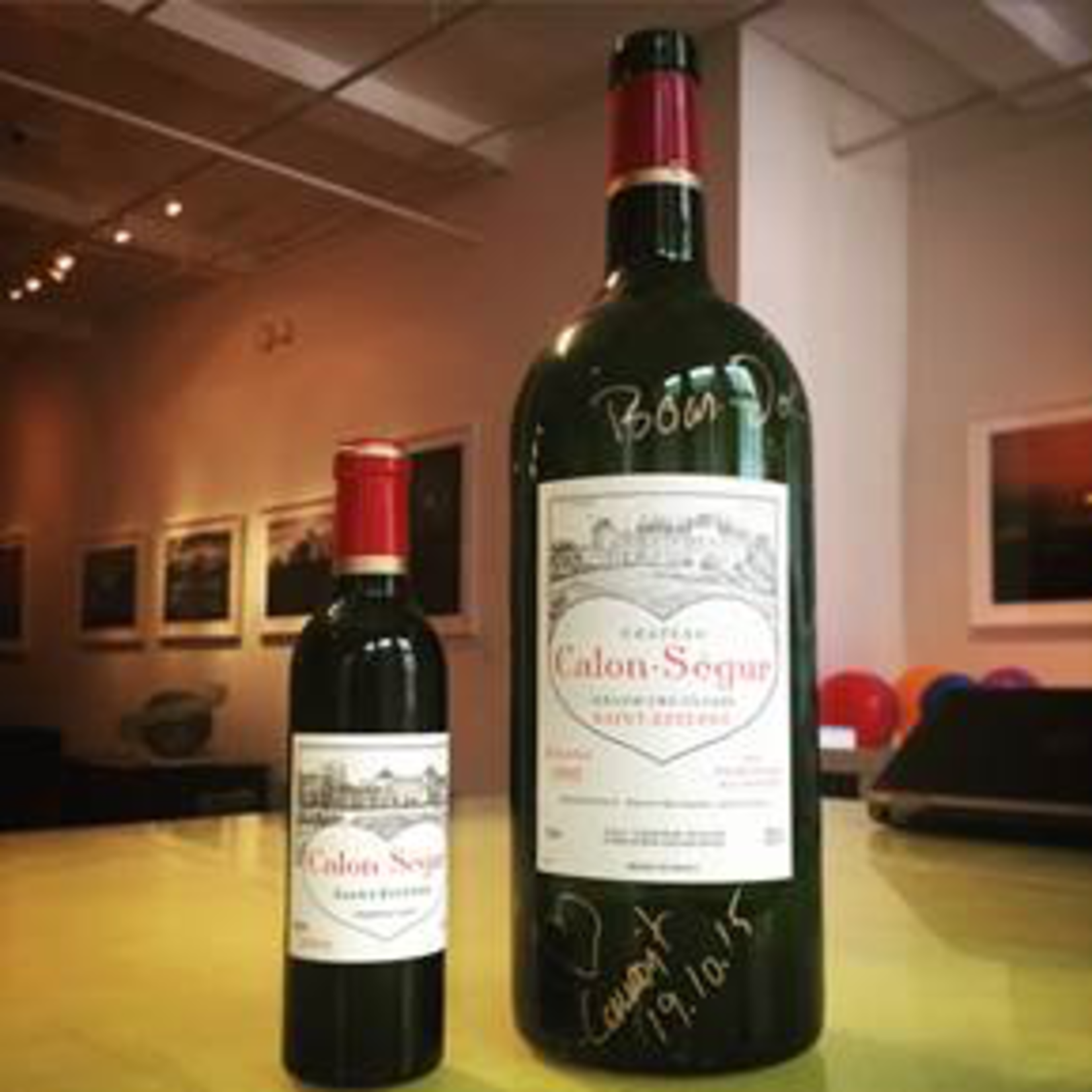 Wine Chateau Calon Segur 1996
