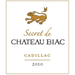 Chateau Biac Secret de Chateau Biac Cadillac 2010 500ml
