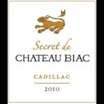 Wine Chateau Biac Secret de Chateau Biac Cadillac 2010 500ml