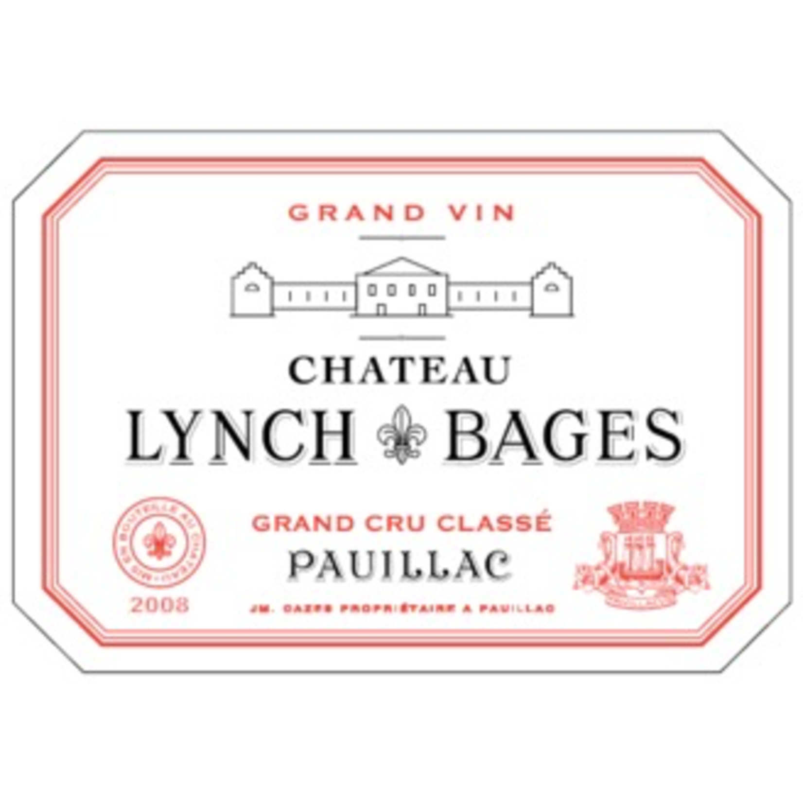 Wine Chateau Lynch Bages 2008