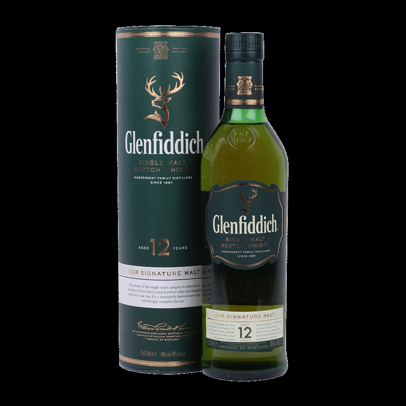 Spirits Glenfiddich 12 Year Old Single Malt Whisky