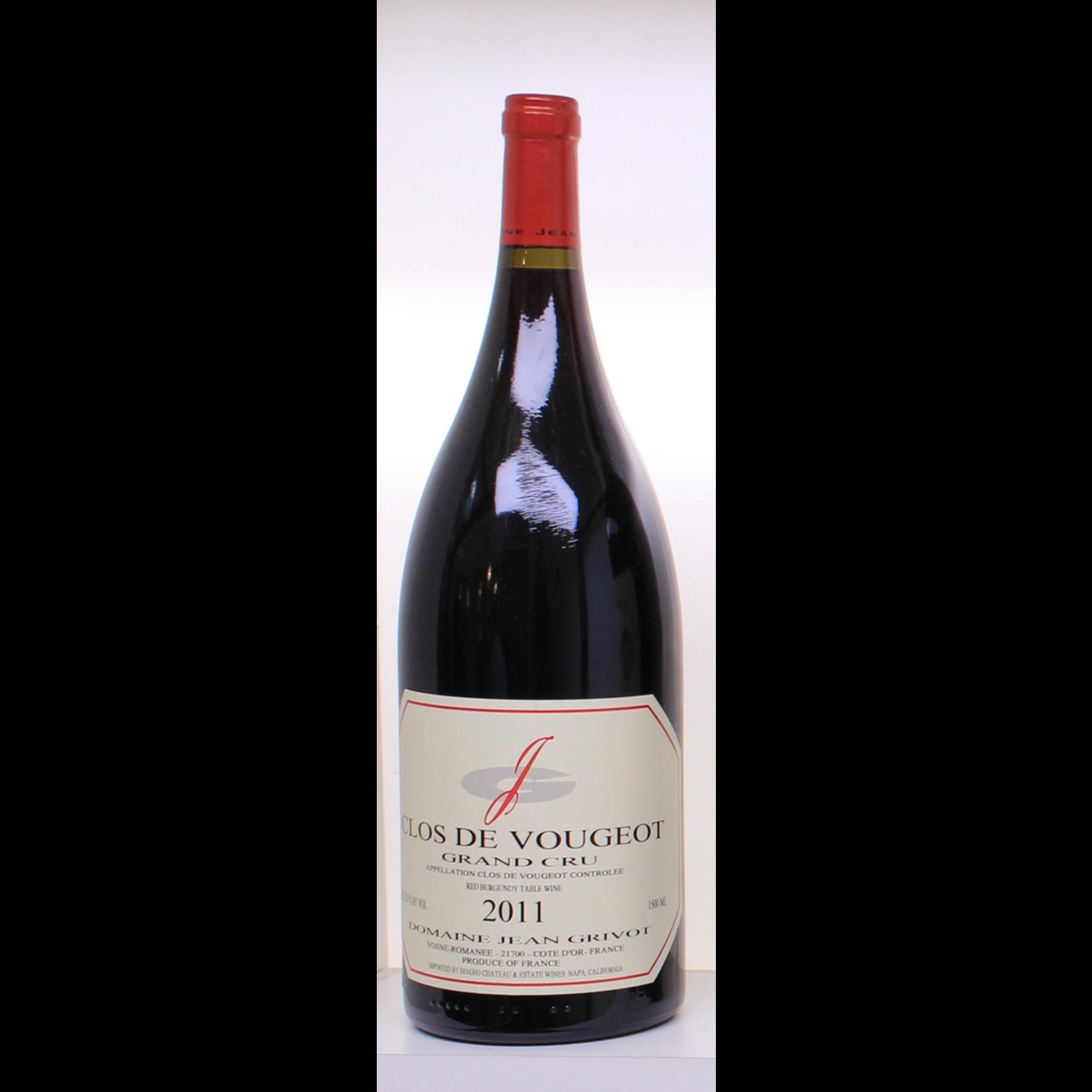 Wine Grivot Clos Vougeot Grand Cru 2011 1.5L