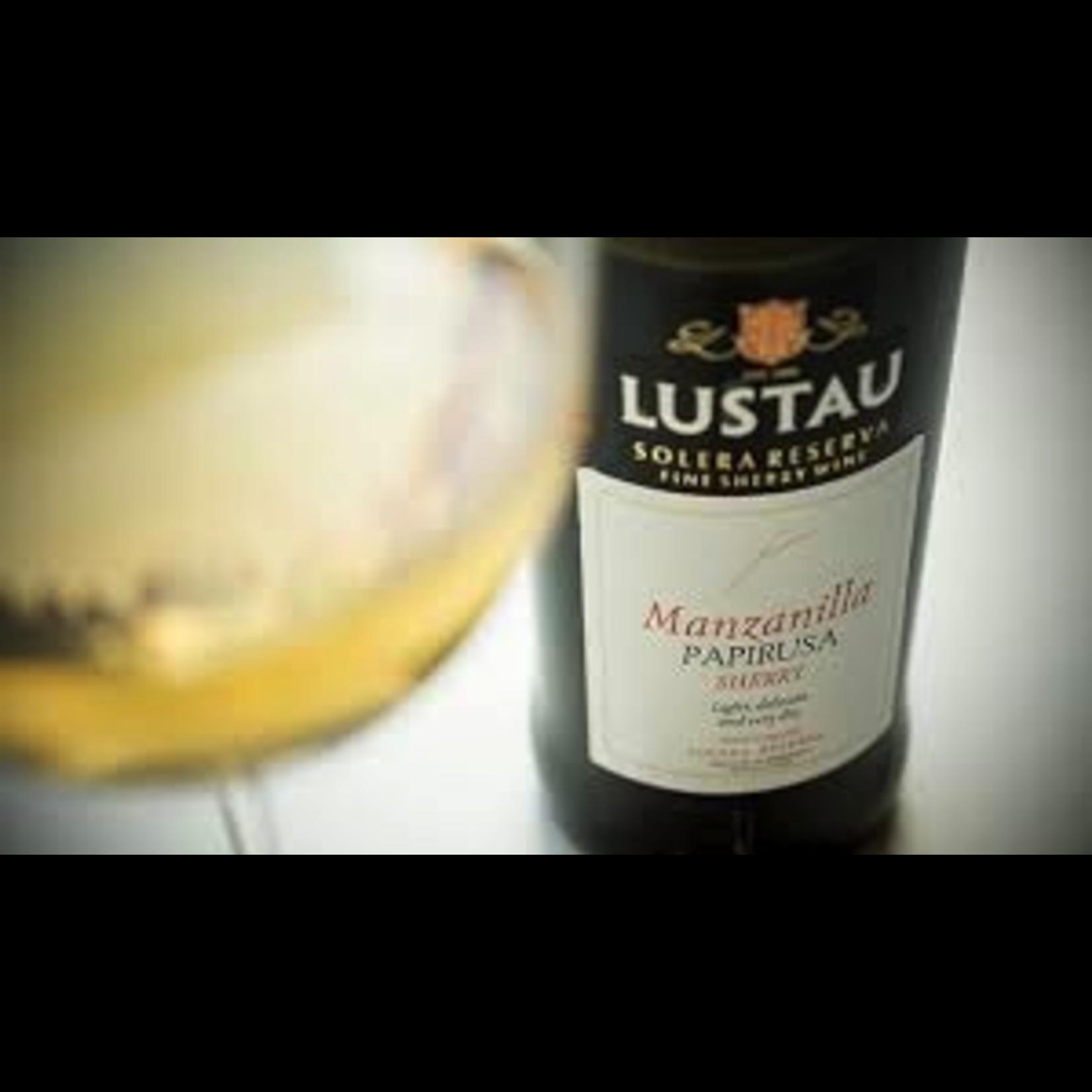 Wine Emilio Lustau Manzanilla Sherry Papirusa