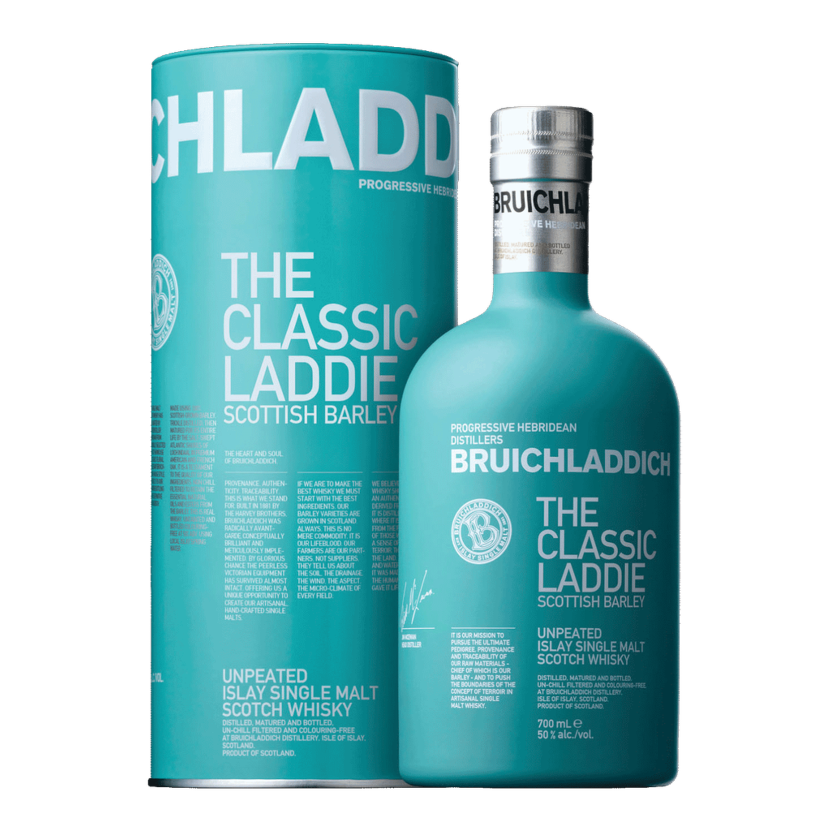 Spirits Bruichladdich Scotch Single Malt The Laddie Scottish Barley