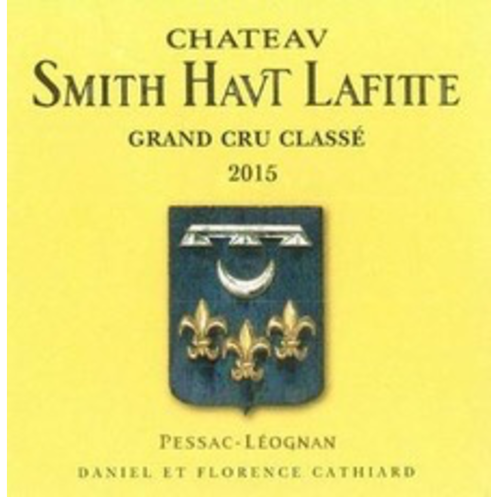 Wine Chateau Smith Haut Lafitte 2015