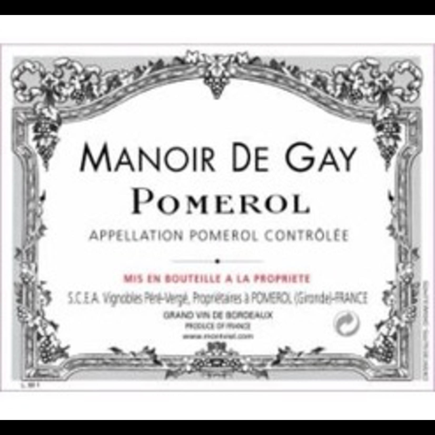 Wine Chateau le Gay Manoir de Gay 2016