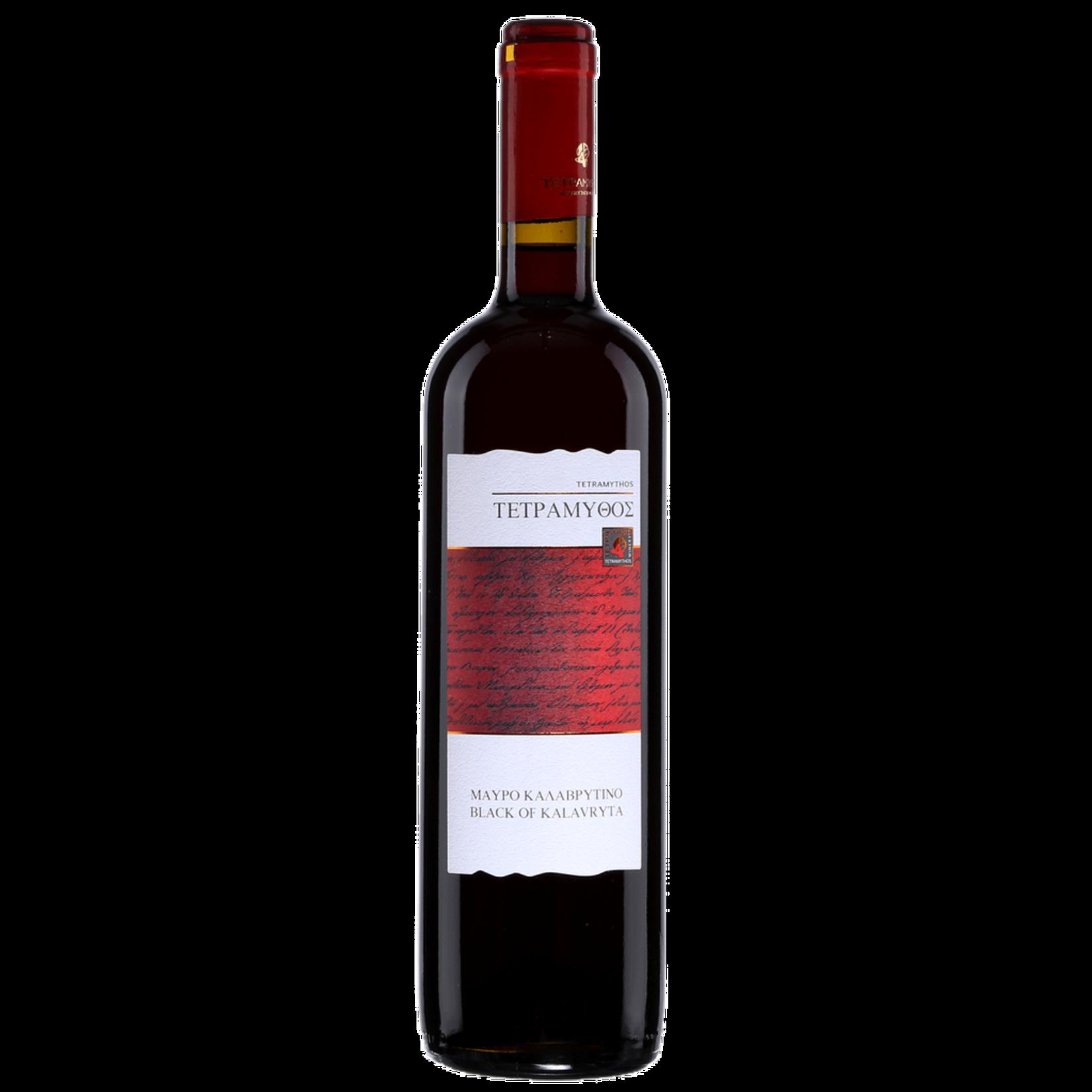 Wine Tetramythos Achaia Black of Kalavryta 2018