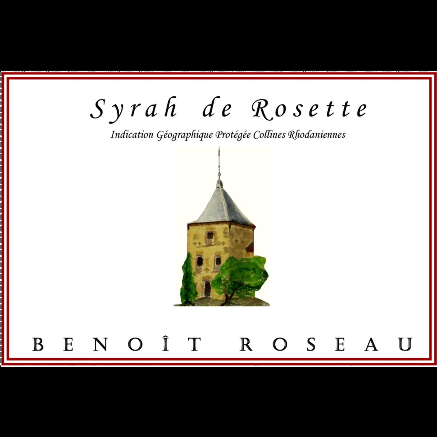 Wine Benoit Roseau Syrah de Rosette 2015