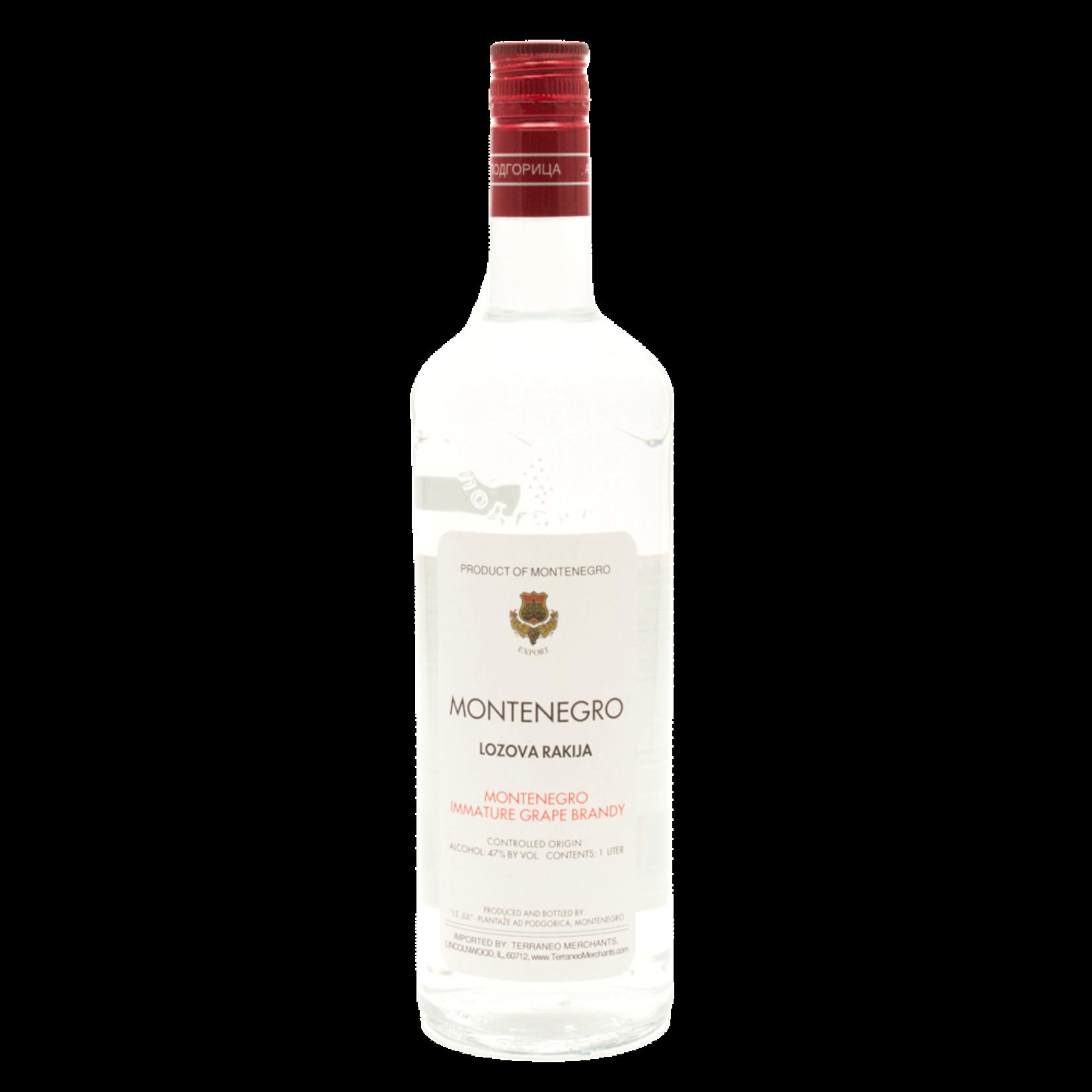 Spirits Montenegro Lozova Rakija 1L