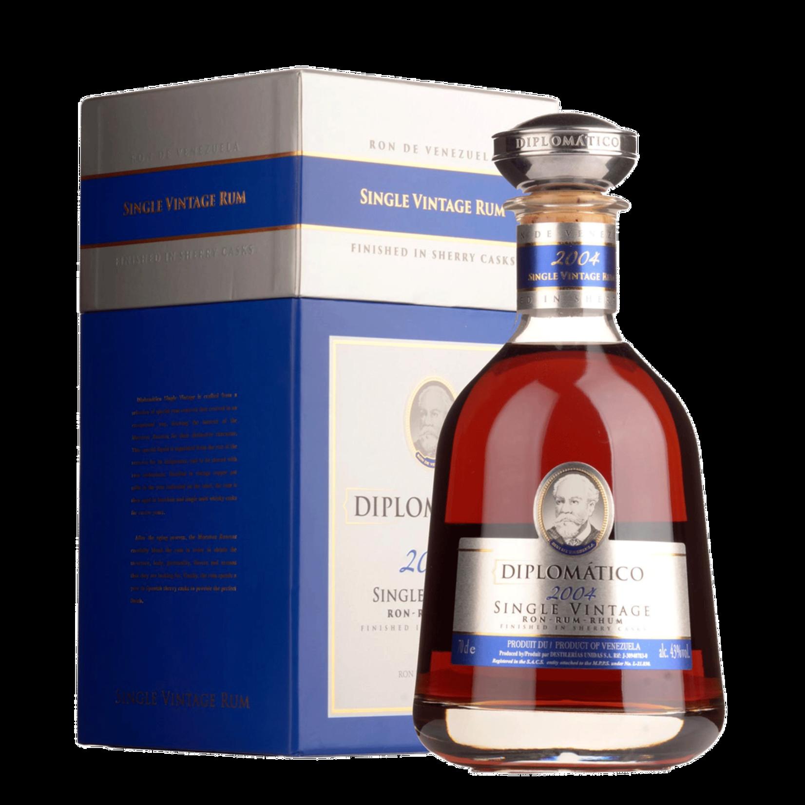 Spirits Diplomatico Single Vintage 2004 Rum