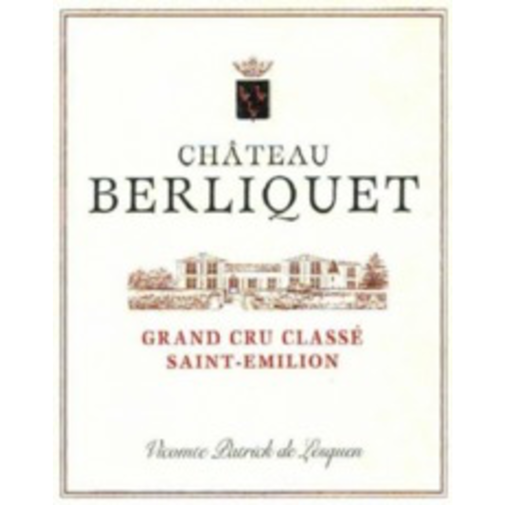 Wine Chateau Berliquet 2015