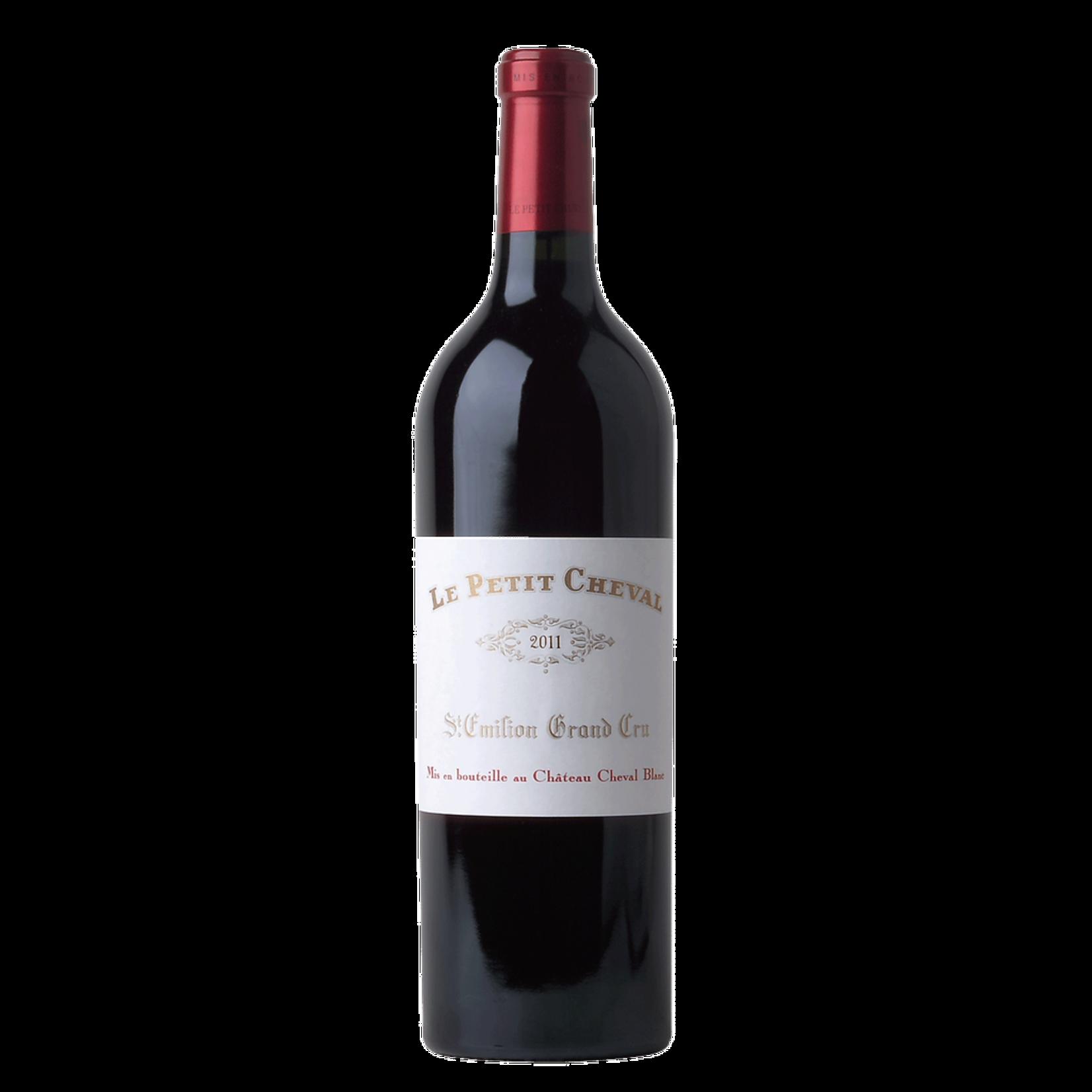 Wine Le Petit Cheval Saint Emilion 2011
