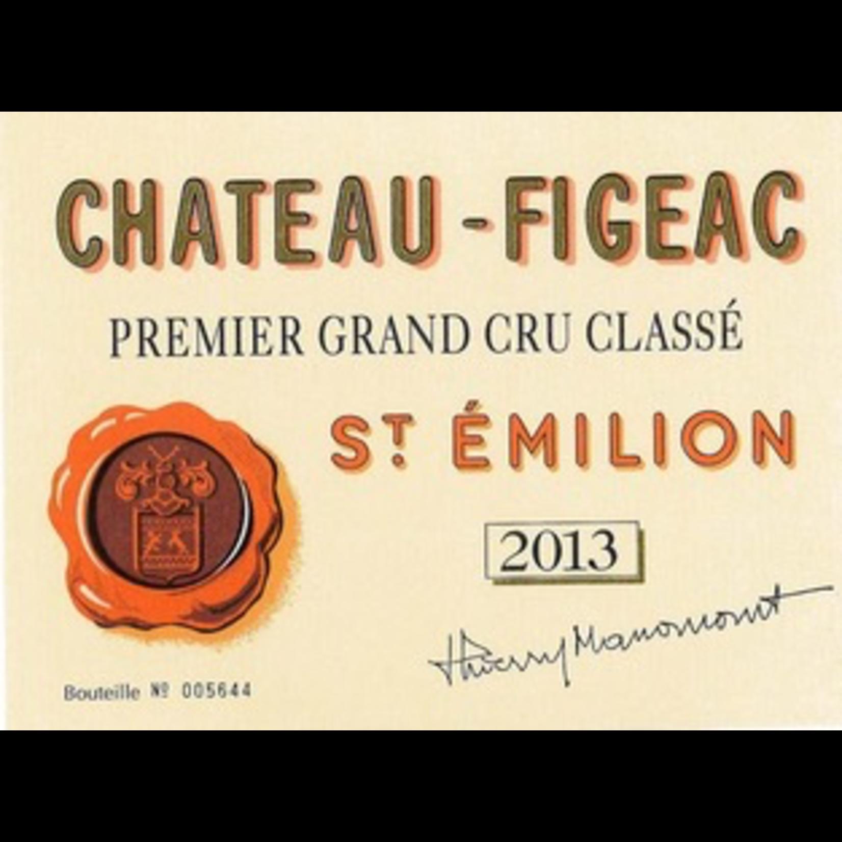Wine Chateau Figeac 2012