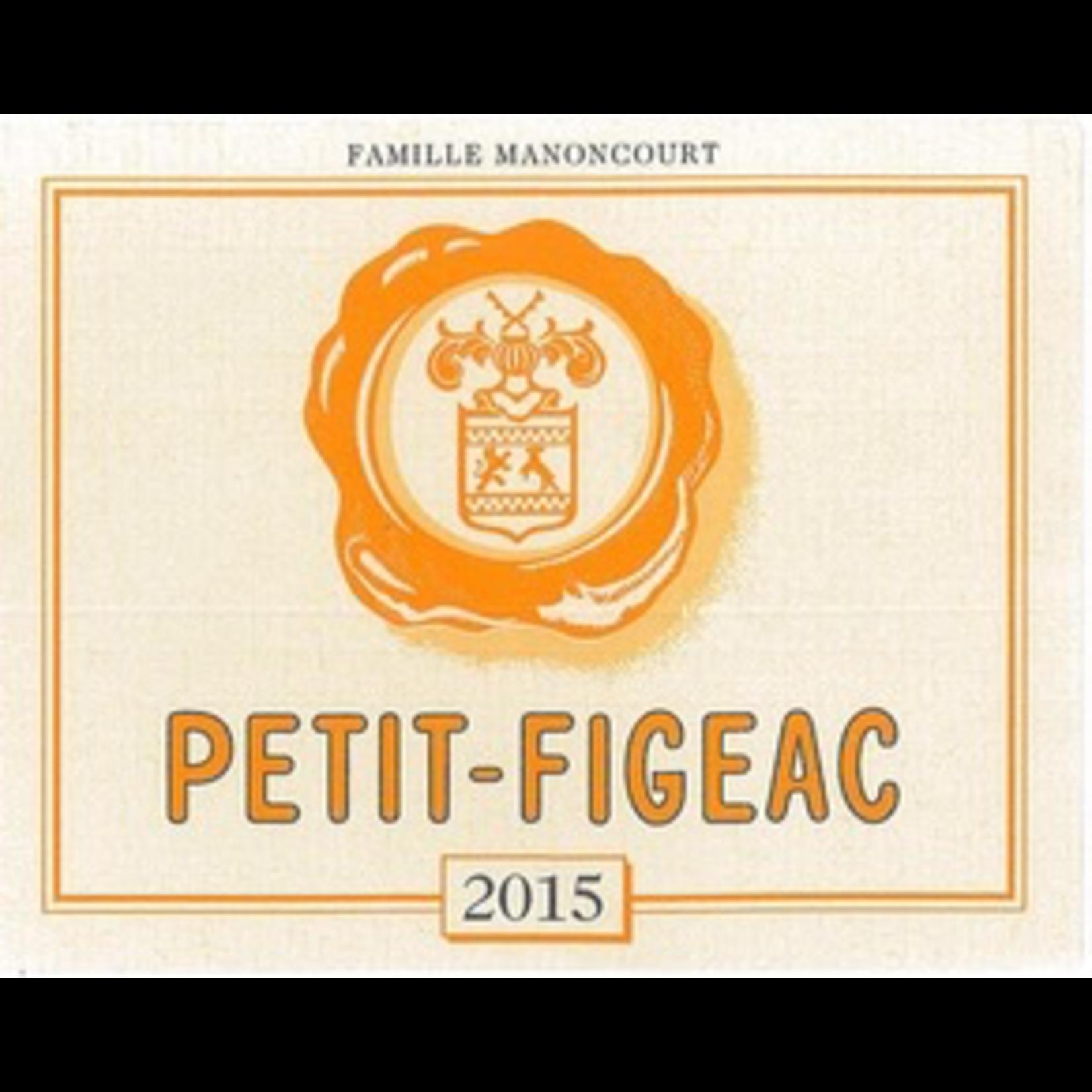 Wine Chateau Petit-Figeac, Saint-Emilion 2014 3L