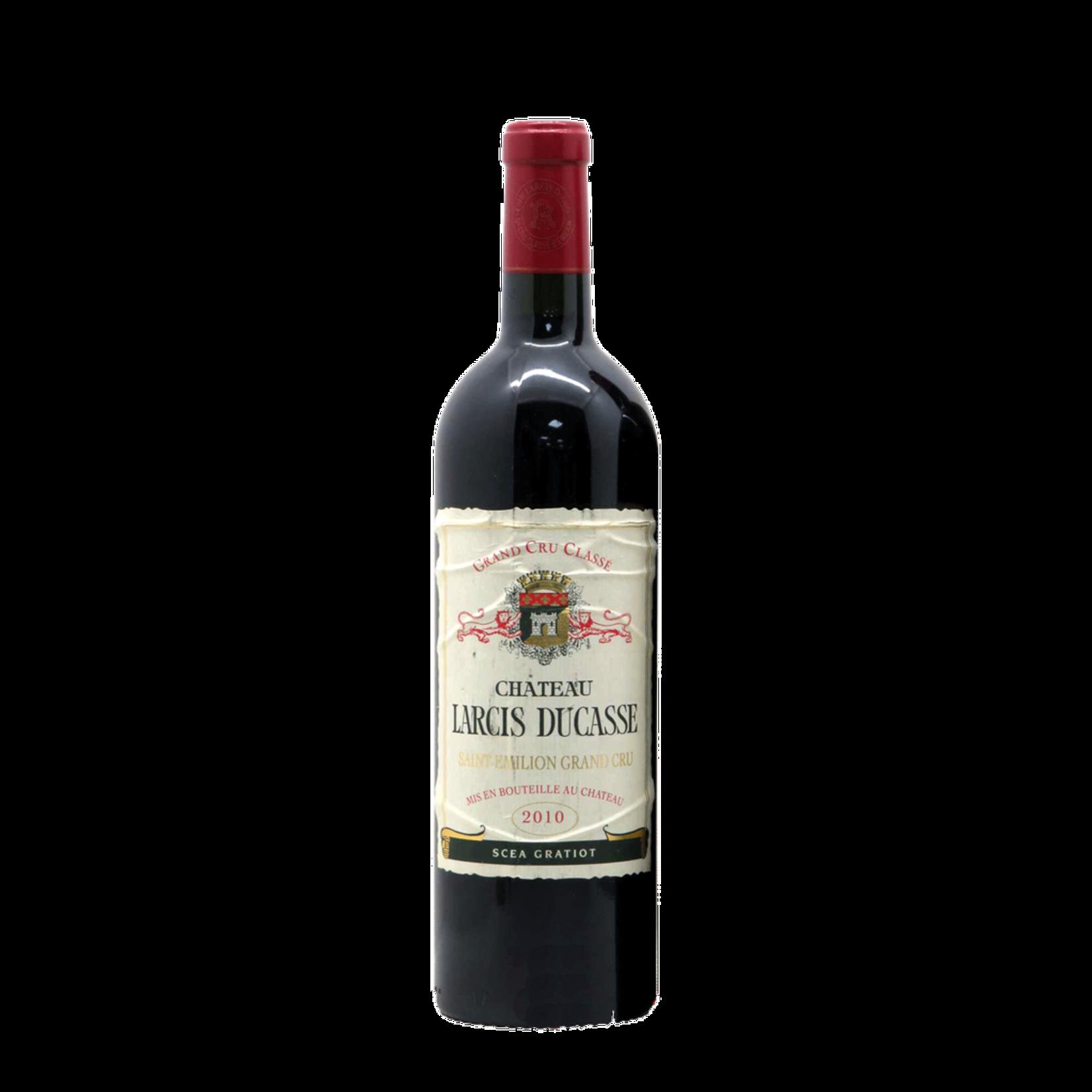 Wine Chateau Larcis Ducasse Saint Emilion Grand Cru Classe 2010