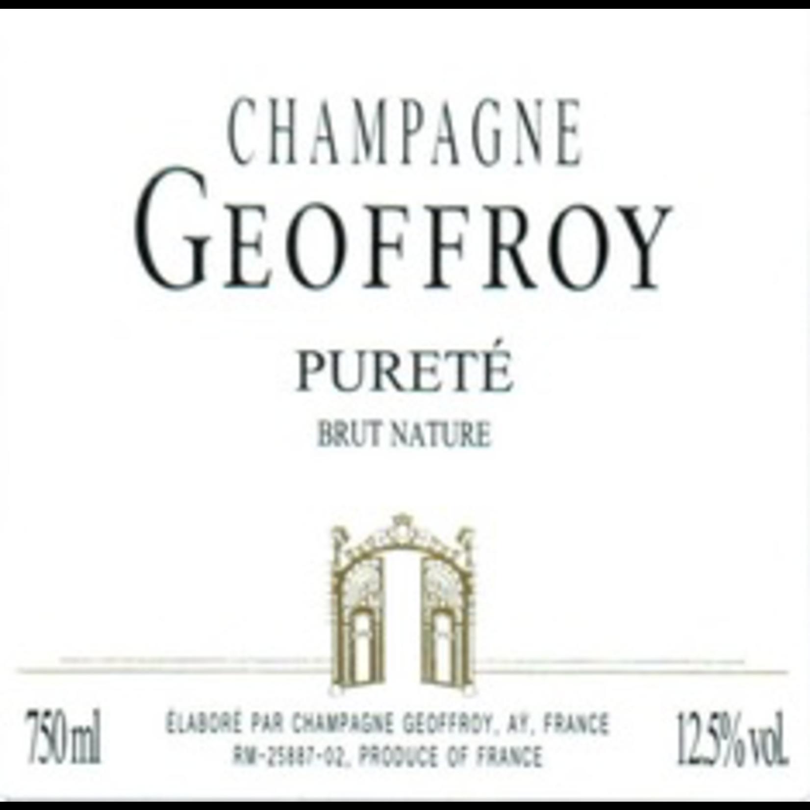 Sparkling R Geoffroy Champagne Brut Nature Purete
