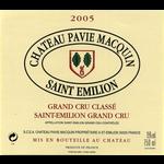 Wine Château Pavie-Macquin, Saint-Émilion Grand Cru Classé 2005