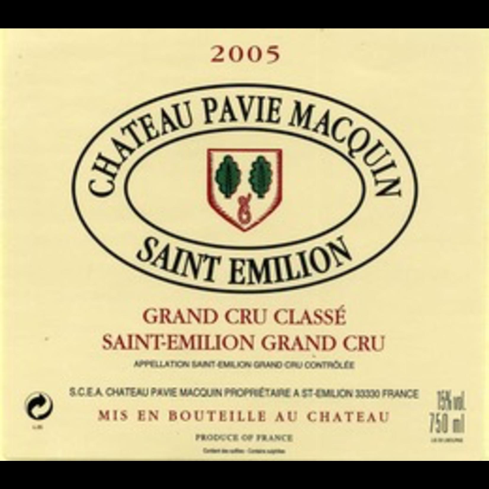 Wine Chateau Pavie-Macquin, Saint-Emilion Grand Cru Classe 2003