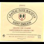 Chateau Pavie-Macquin, Saint-Emilion Grand Cru Classe 2001