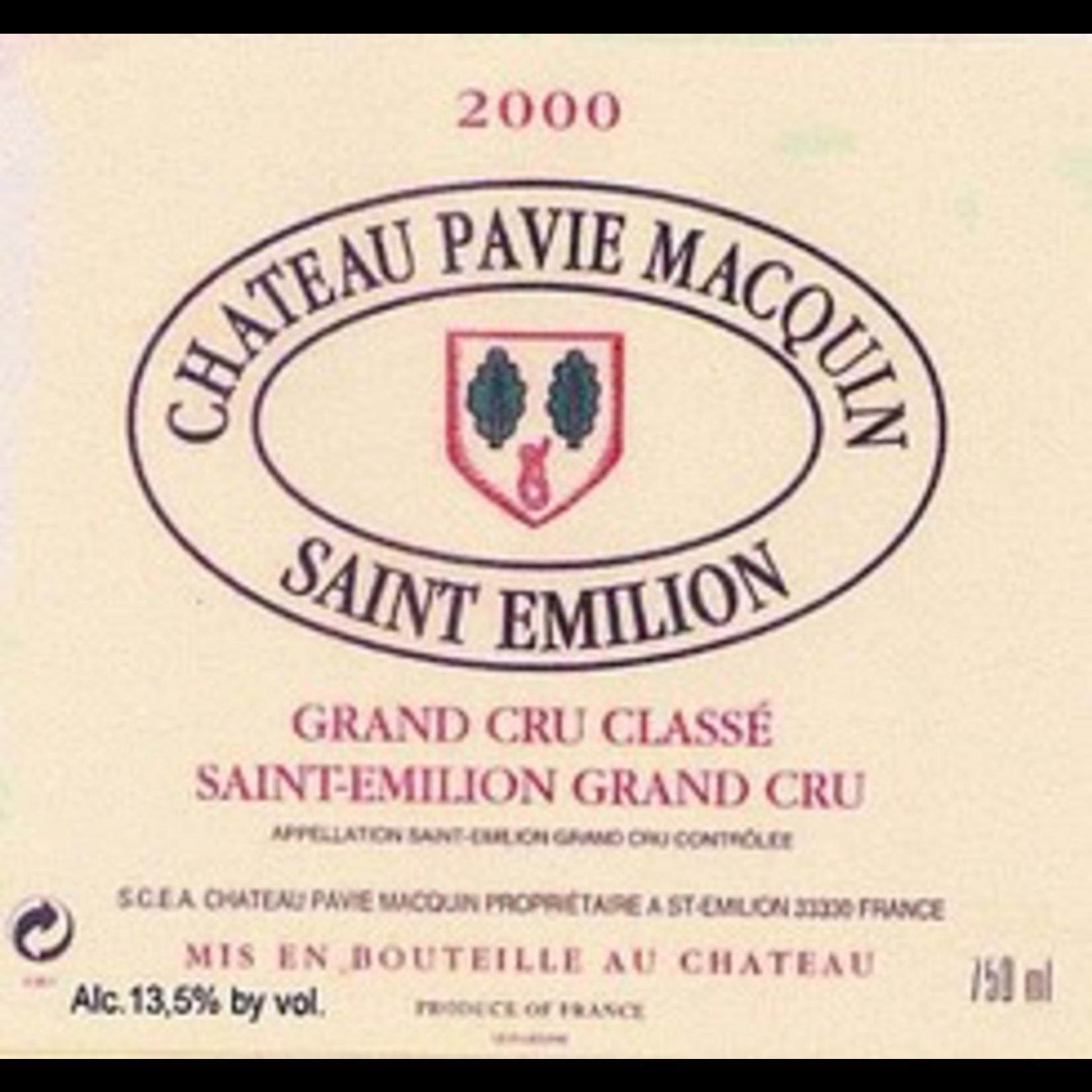 Wine Château Pavie-Macquin, Saint-Émilion Grand Cru Classé 2000