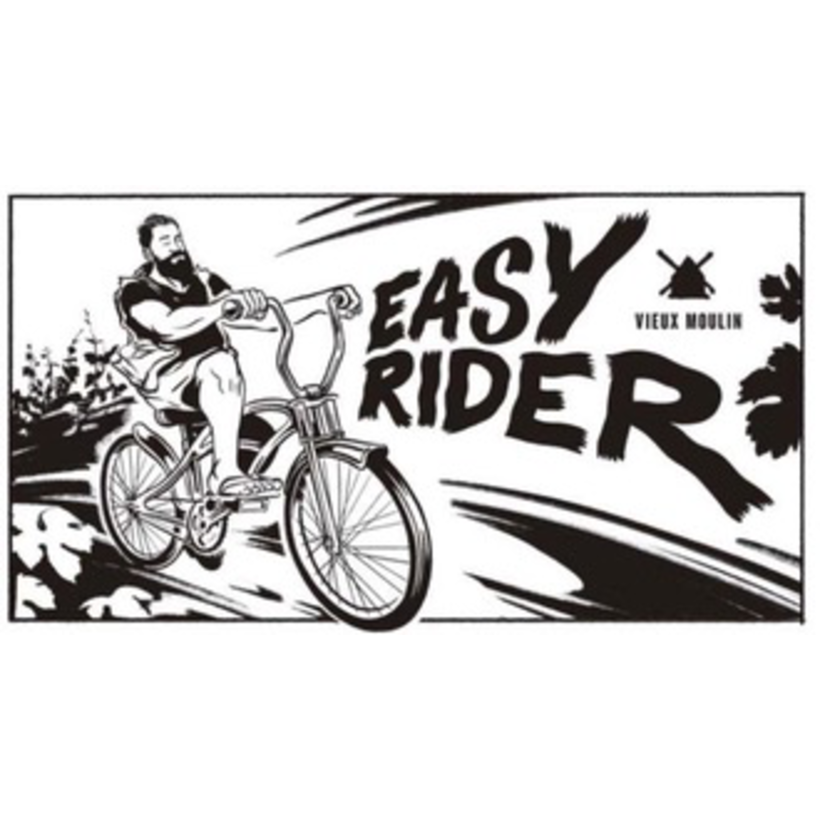 Wine Chateau Vieux Moulin Easy Rider 2019