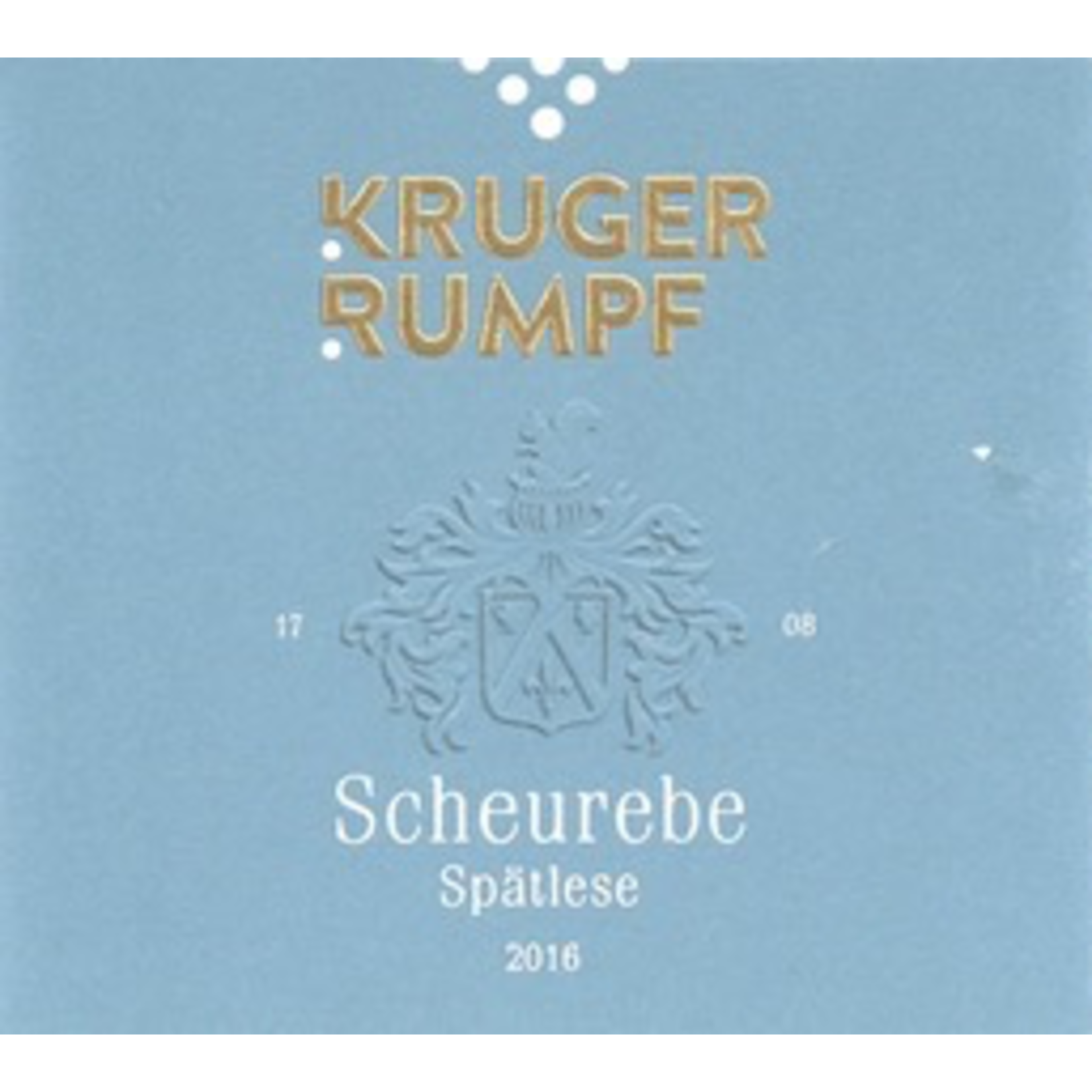 Wine Kruger Rumpf Scheurebe Spatlese 2018
