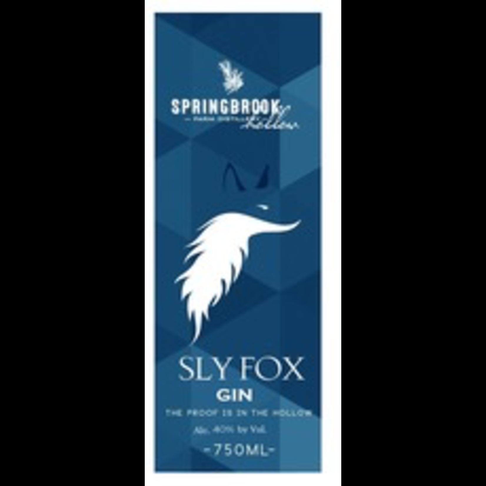Spirits Sly Fox Gin