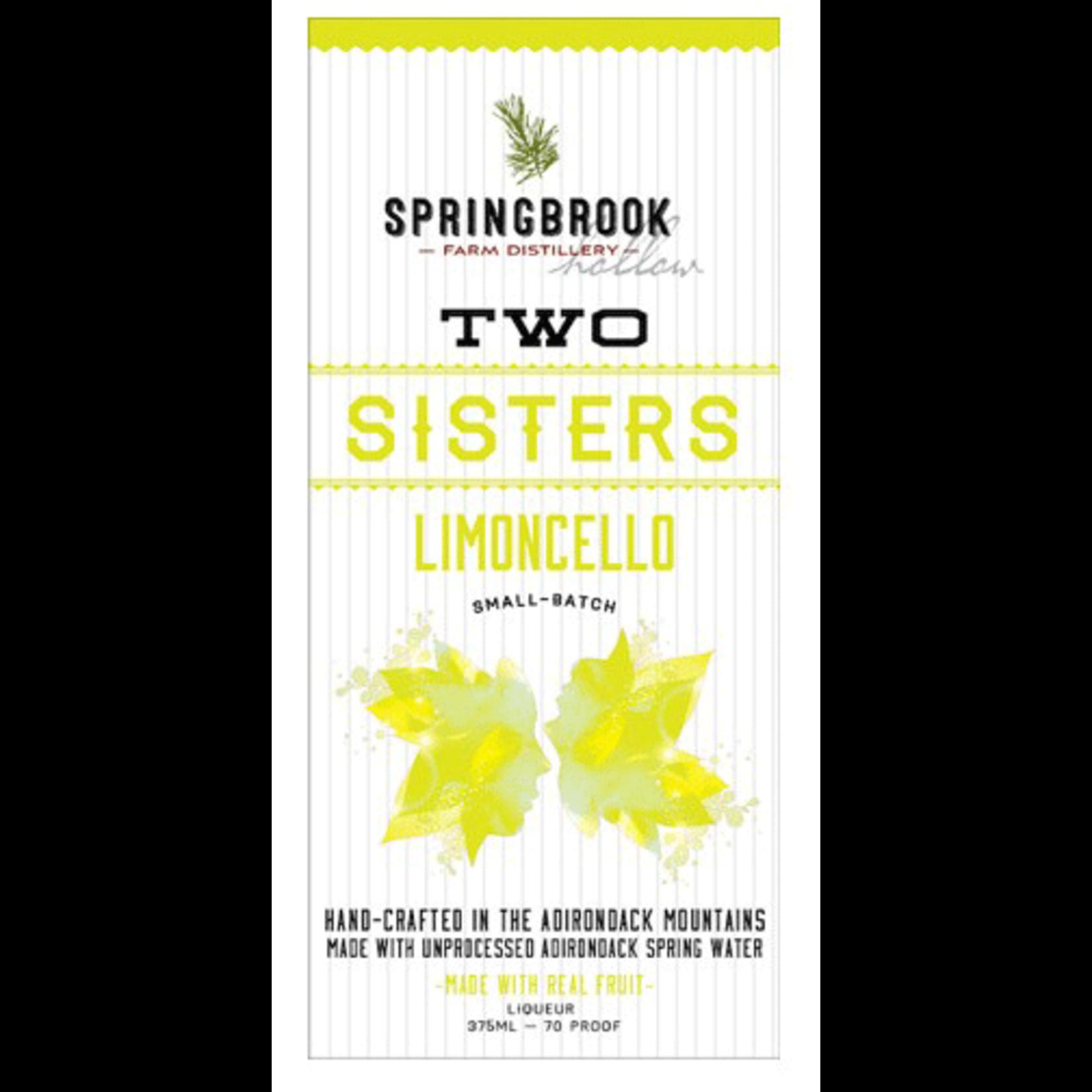 Two Sisters Limoncello 375ml