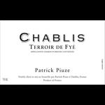 Patrick Piuze Chablis Terroir de Fye 2019