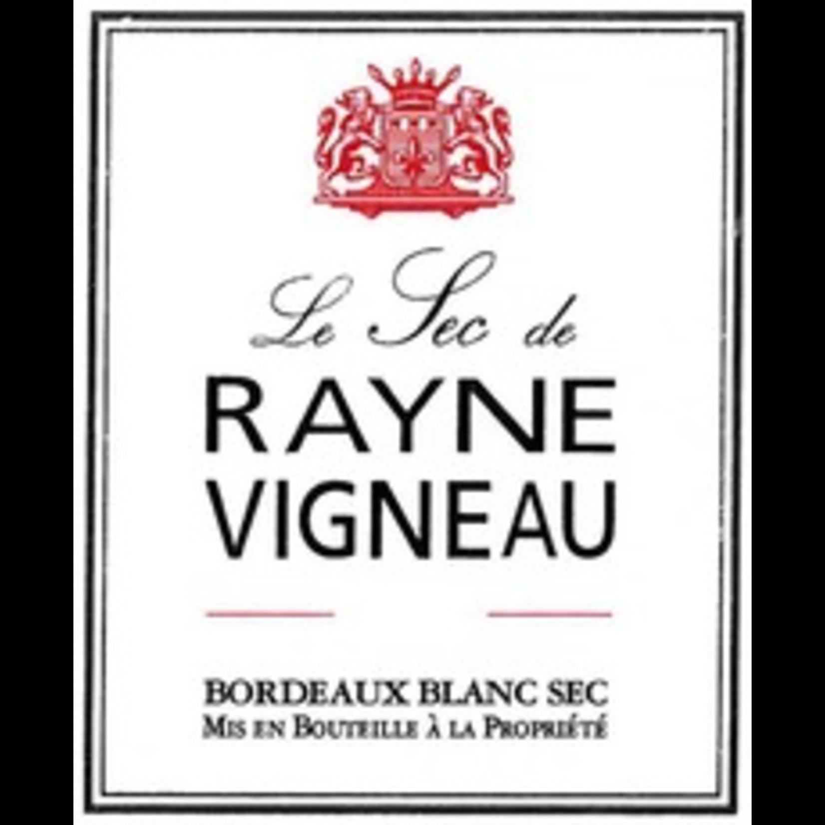 Chateau de Rayne Vigneau Le Sec de Rayne Vigneau 2018