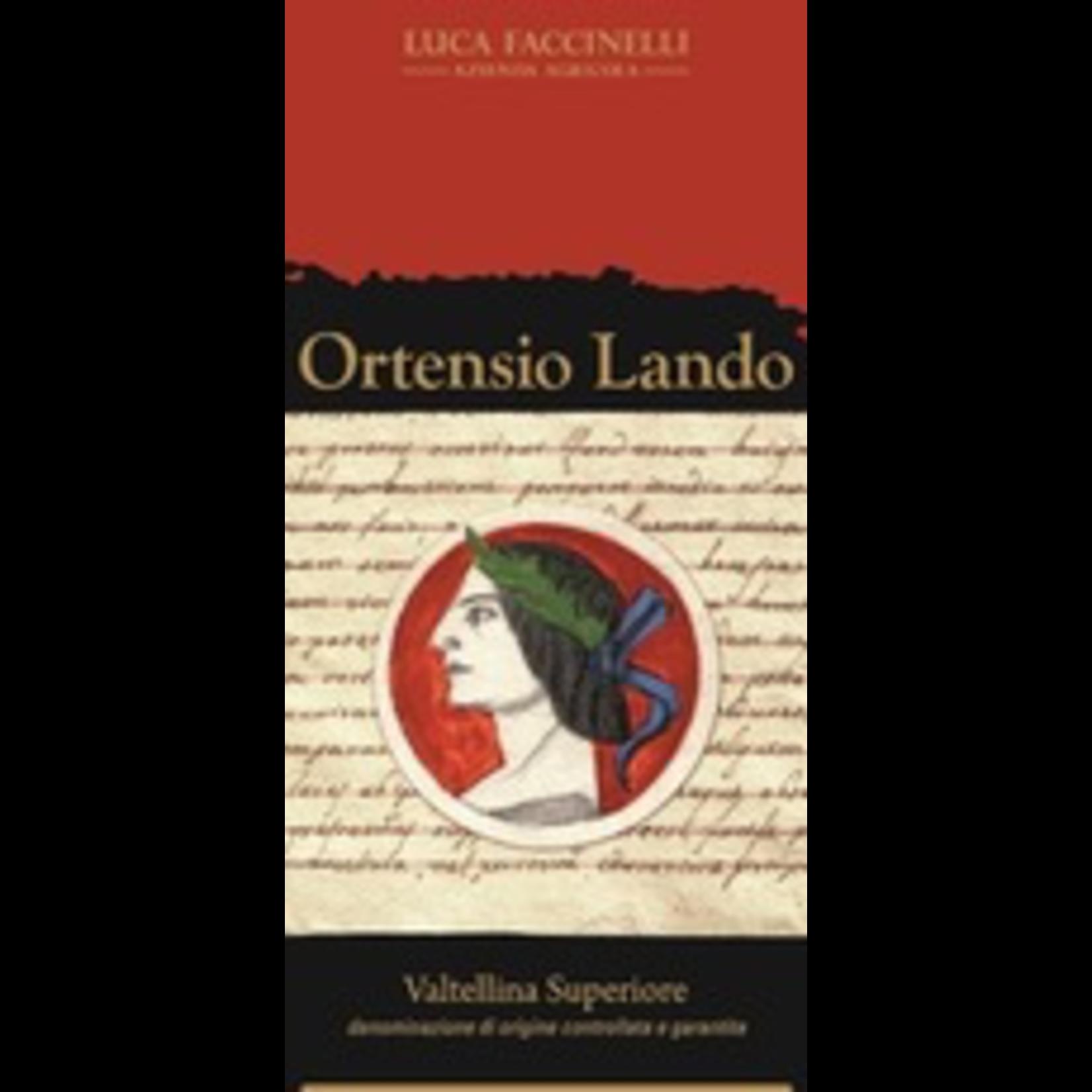 Wine Luca Faccinelli Valtellina Superiore Ortensio Lando 2013
