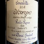 Daniel Bouland Morgon Vieilles Vignes Corcelette 2018