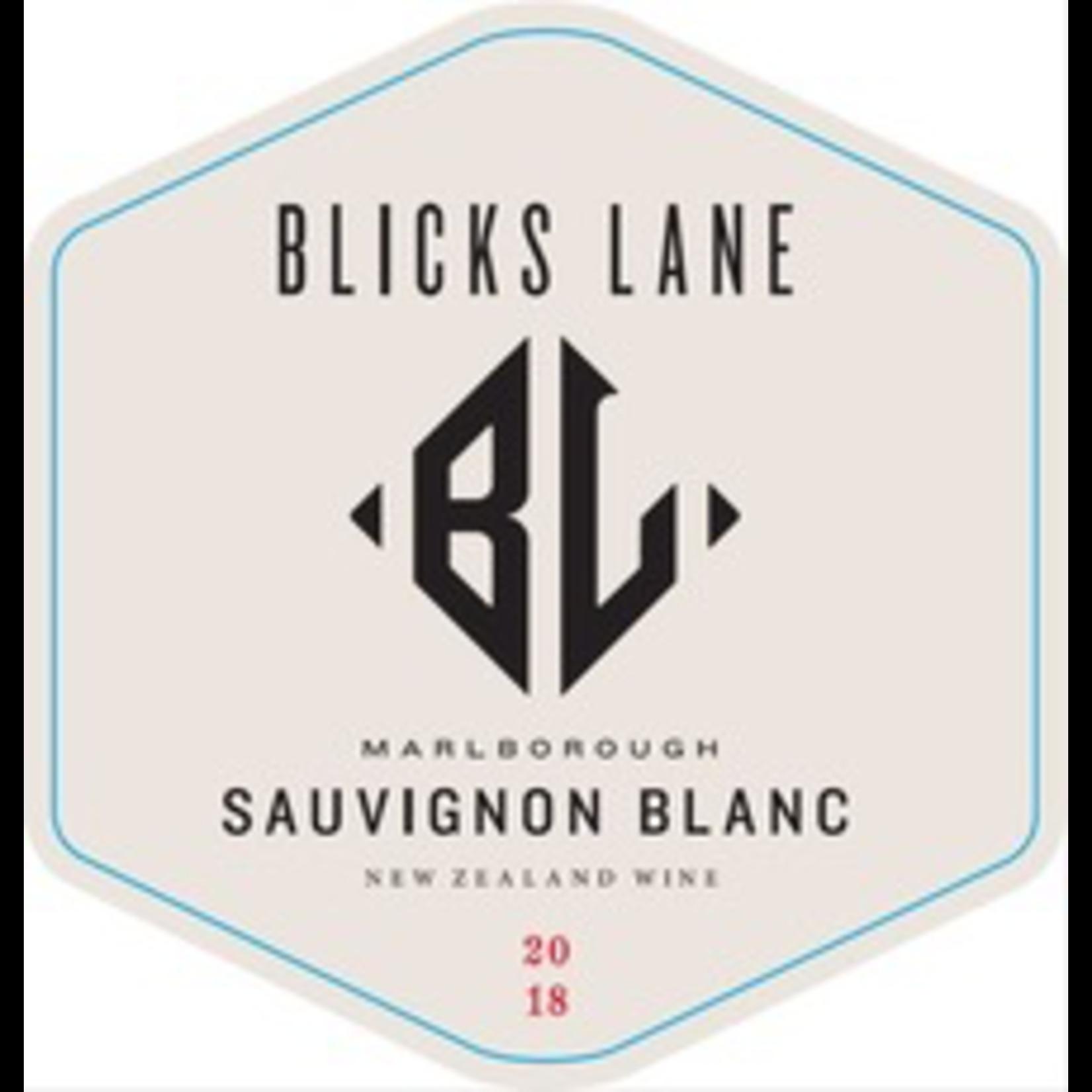 Wine Blicks Lane Vineyards Sauvignon Blanc Marlborough 2020