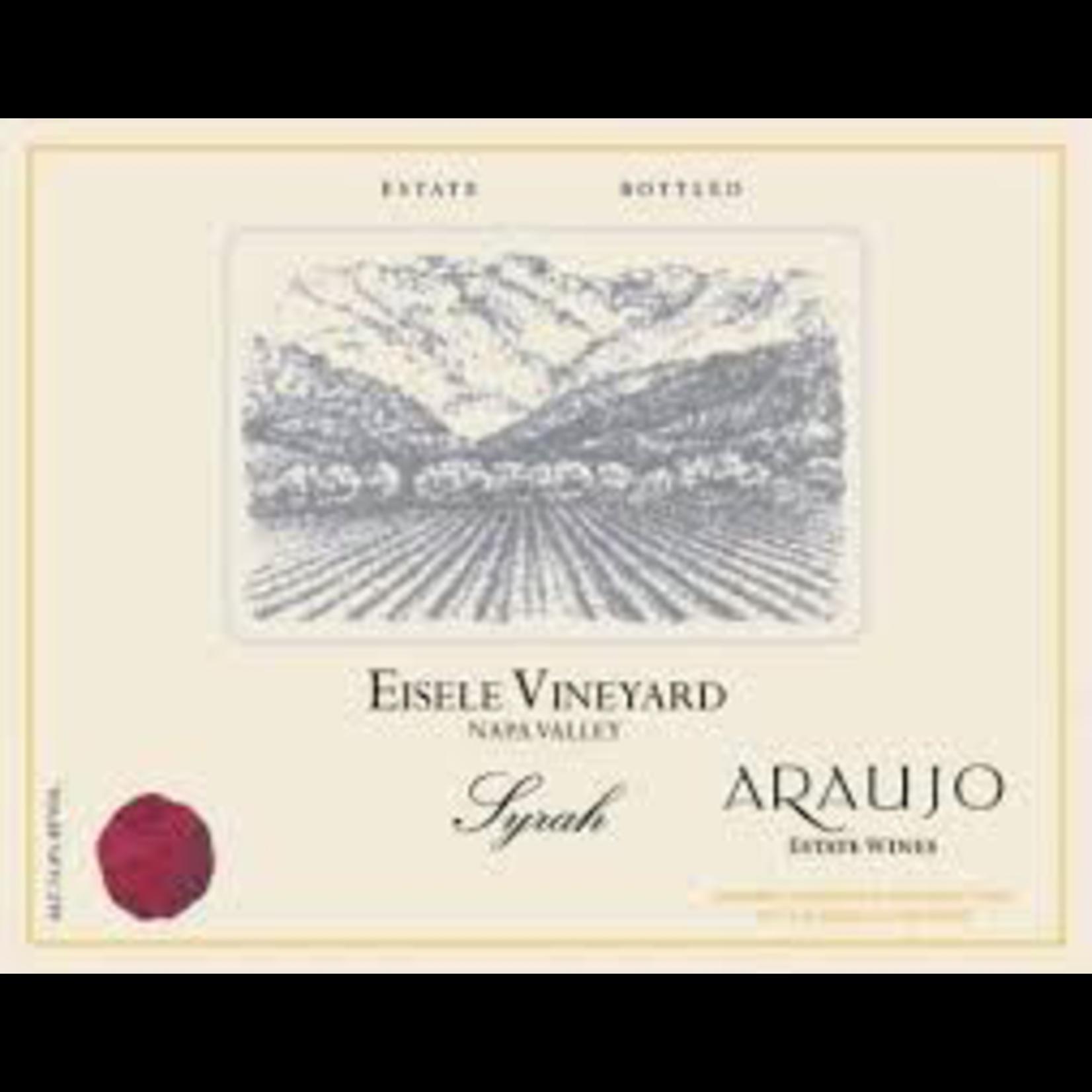 Araujo Estate Syrah Eisele Vineyard Napa Valley 2005