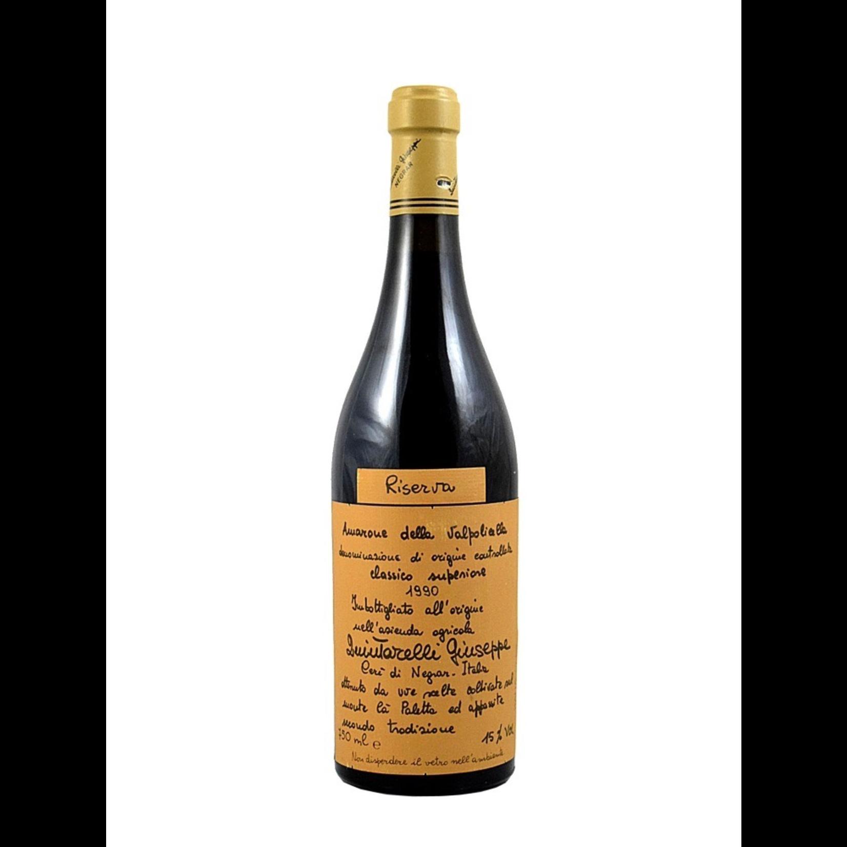 Wine Giuseppe Quintarelli Amarone della Valpolicella Riserva 1990