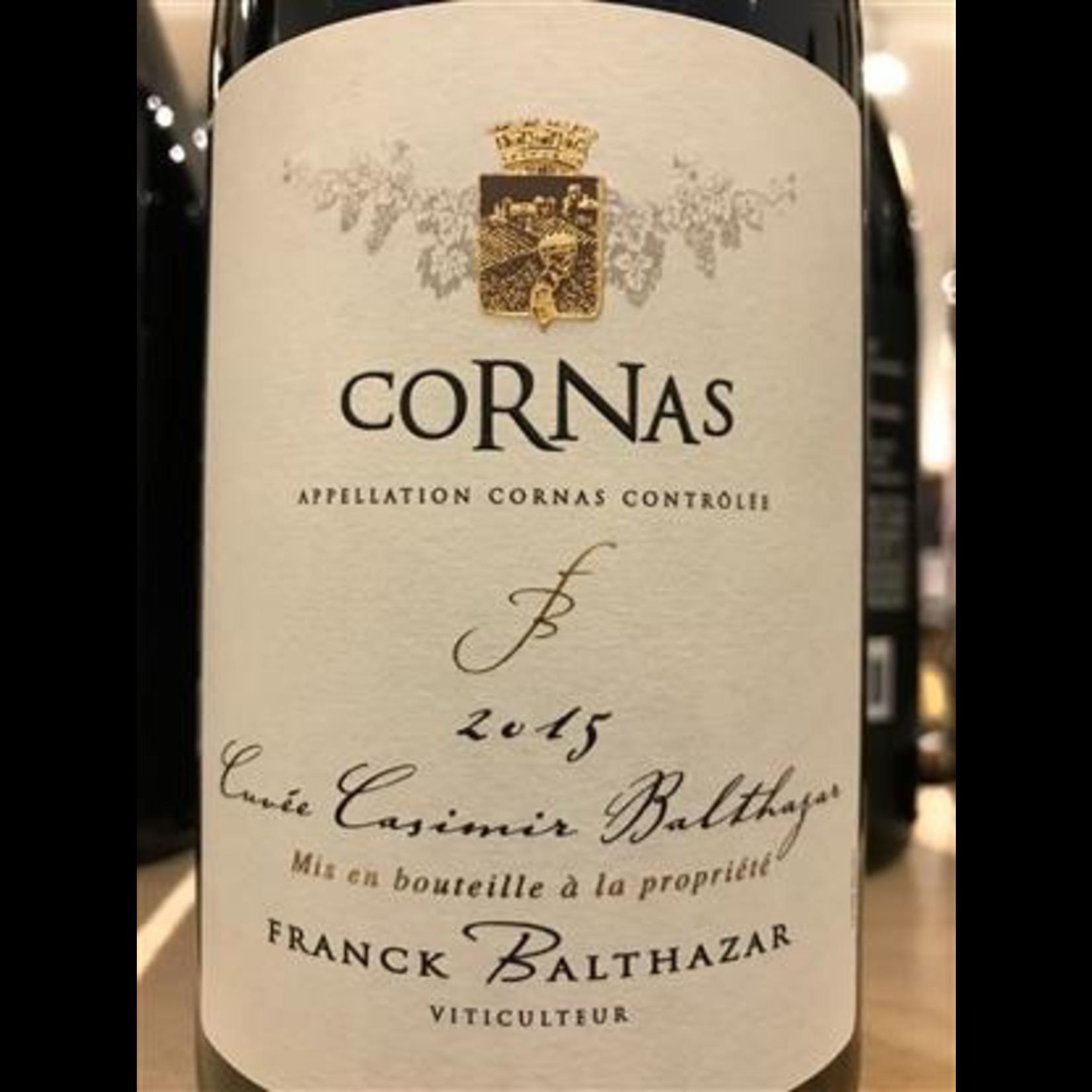 Wine Frank Balthazar Cornas Cuvee Casimir 2012
