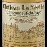 Wine Chateau La Nerthe Chateauneuf du Pape Cuvee des Cadettes 1990 1.5L