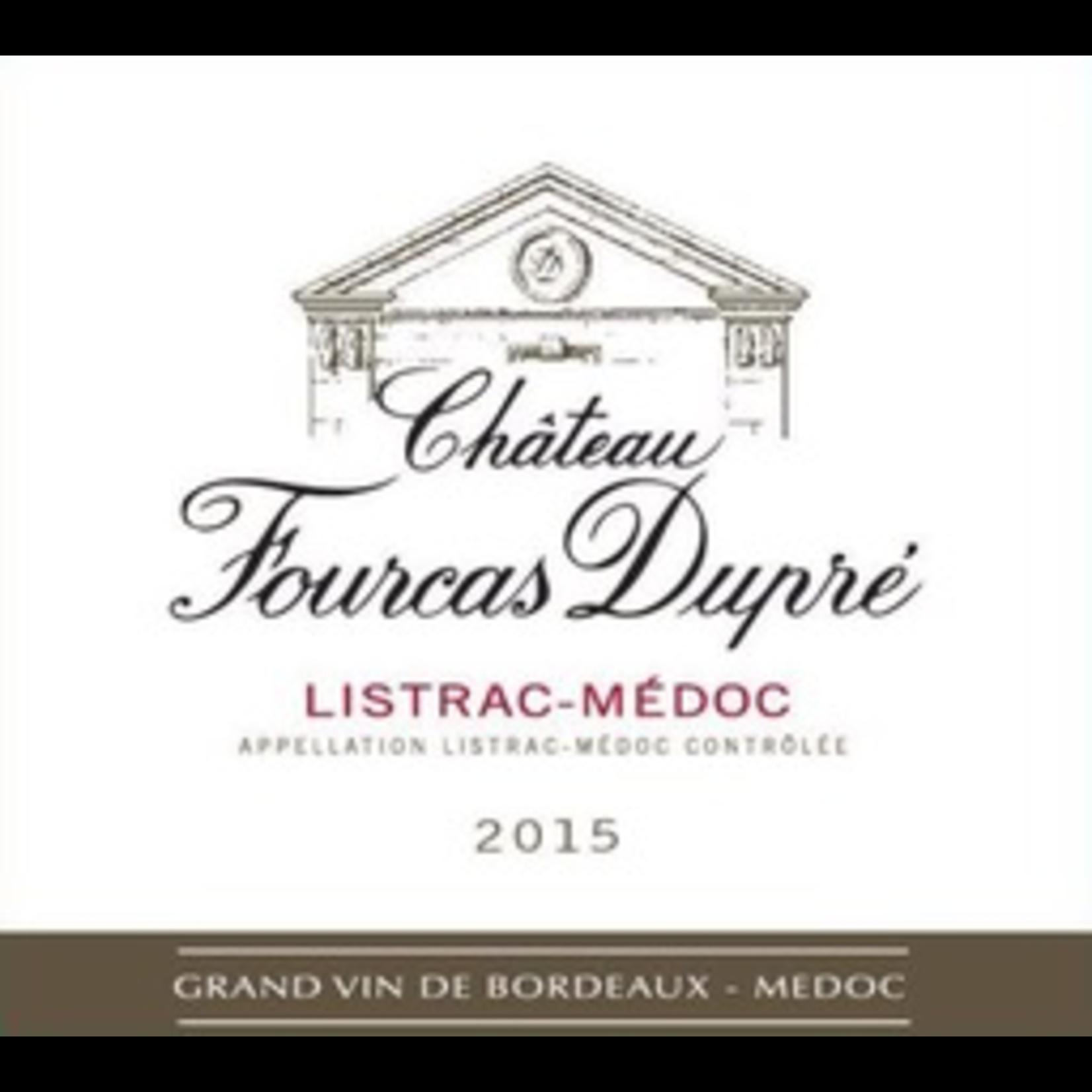 Wine Chateau Fourcas Dupre Listrac Medoc Kosher 2017