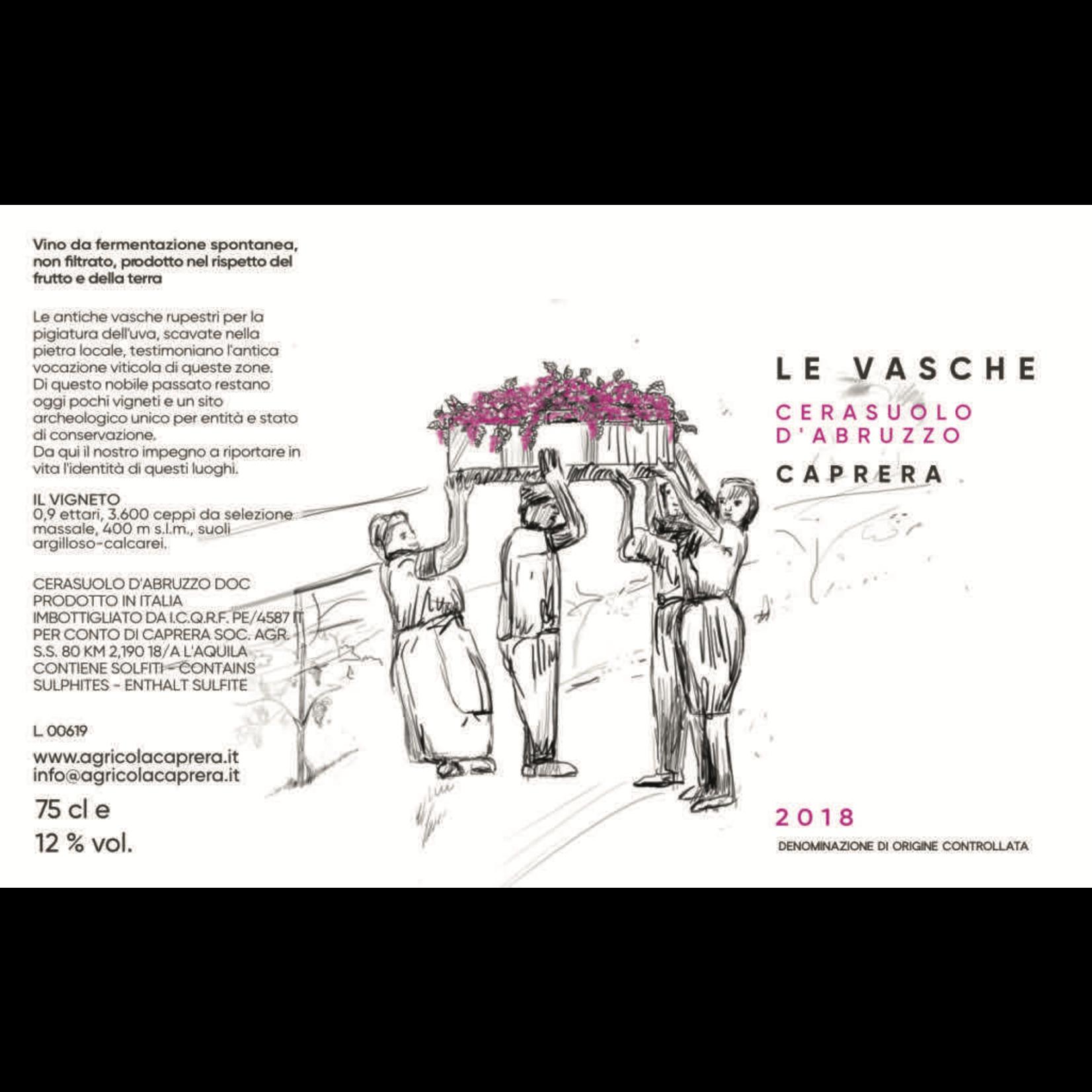 Wine Caprera Le Vasche Cerasuolo d'Abruzzo 2019