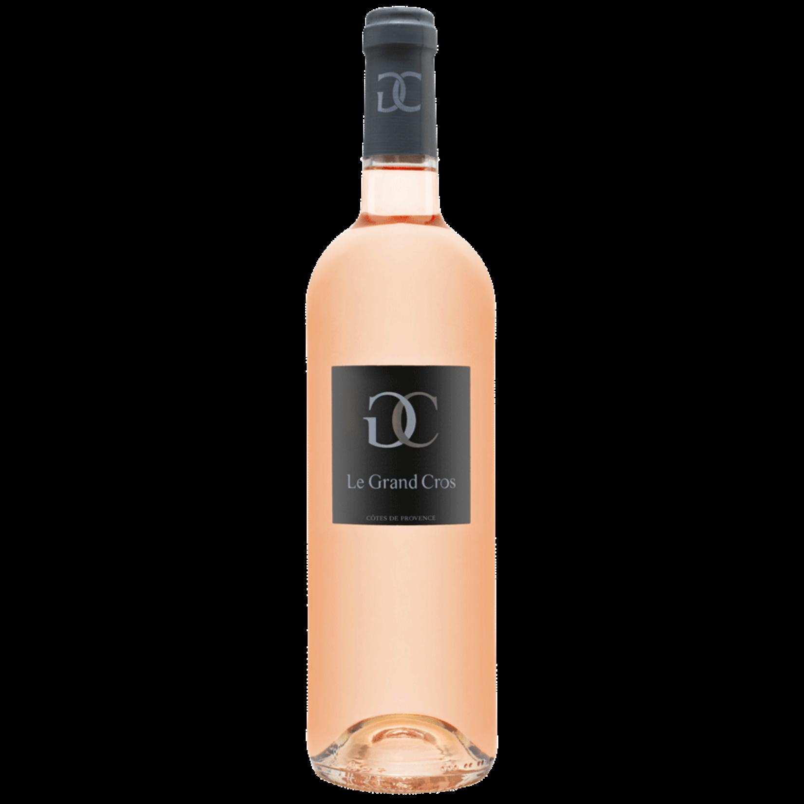 Wine Le Grand Cros Cotes de Provence Rose 2018